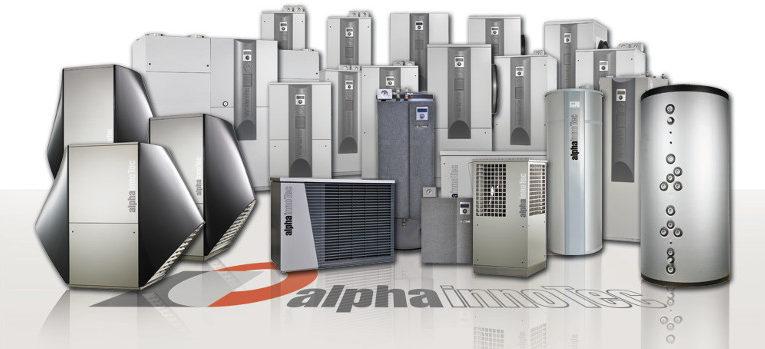 Alpha-Innotec lämpöpumput